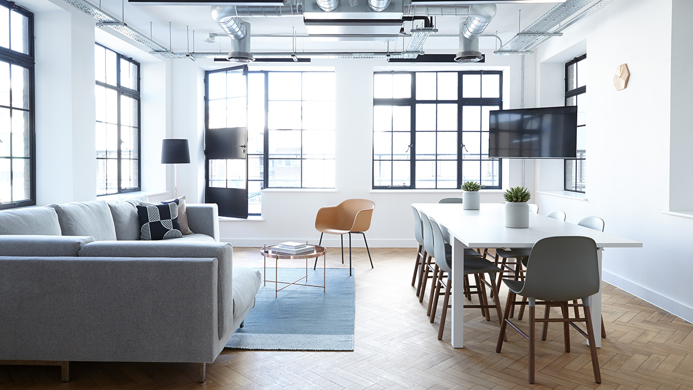 We select an office interior for the company