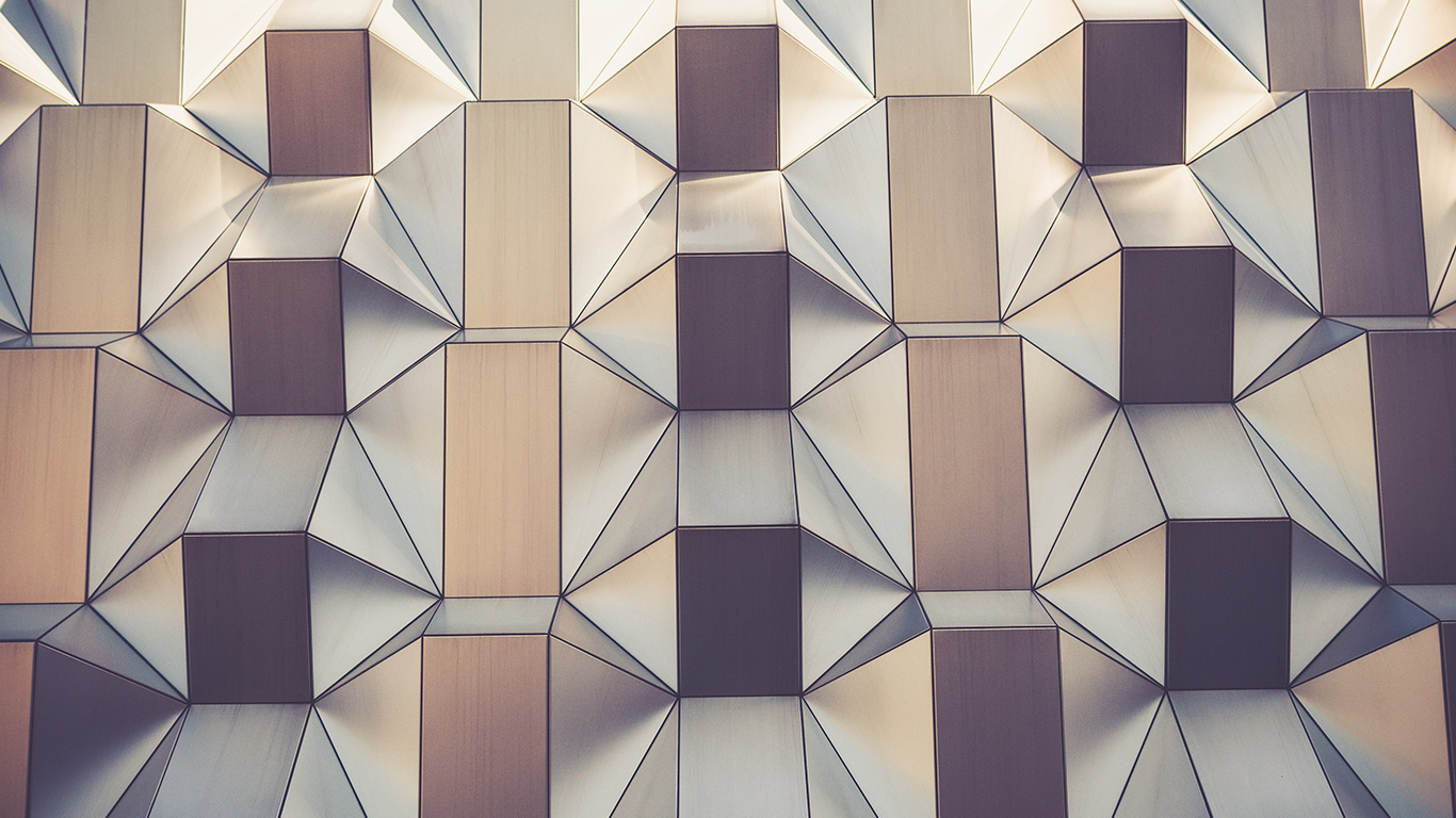 Abstract design in architecture in 2016