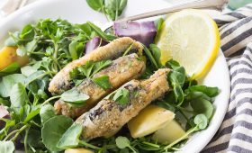 Baked Mexican Fish with Herbs