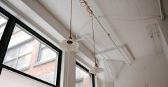 Pendant lamps for office in minimalism